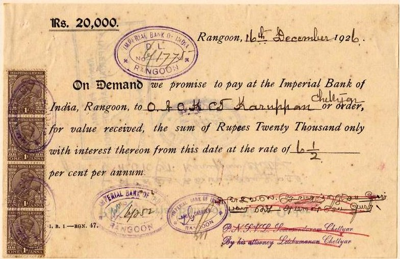 Promissory Note and Bill of Exchange – Bill of Exchange Sample