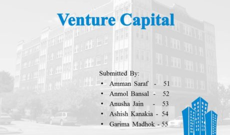 Venture Capital Project/Presentation