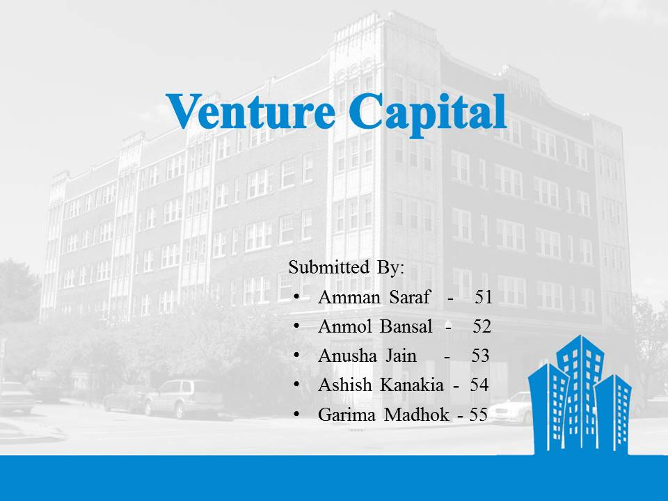venture capital presentation - entrepreneurship - bba|mantra, Presentation templates