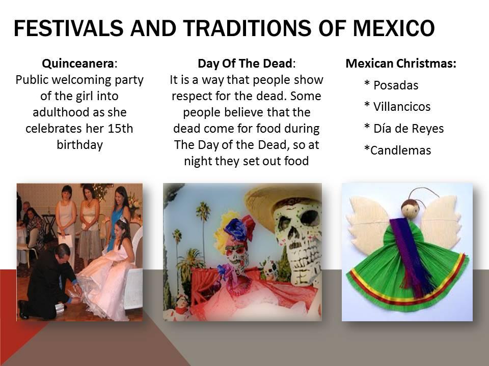 Festivals of Mexico
