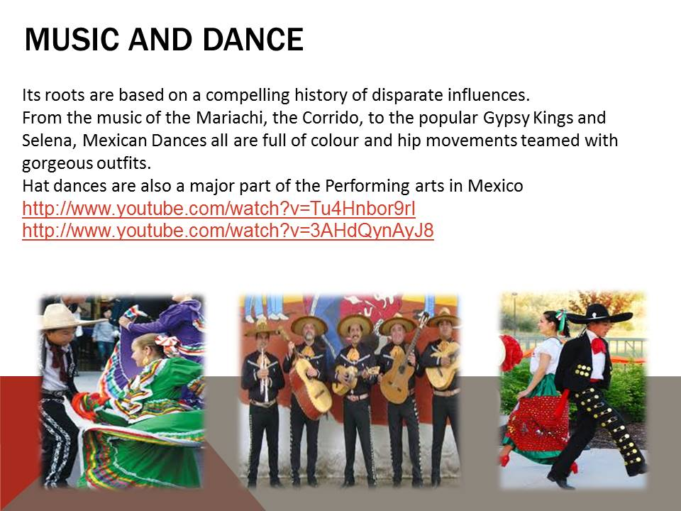 Music and Dance in Mexico