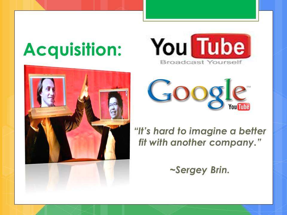 google acquisition of Youtube