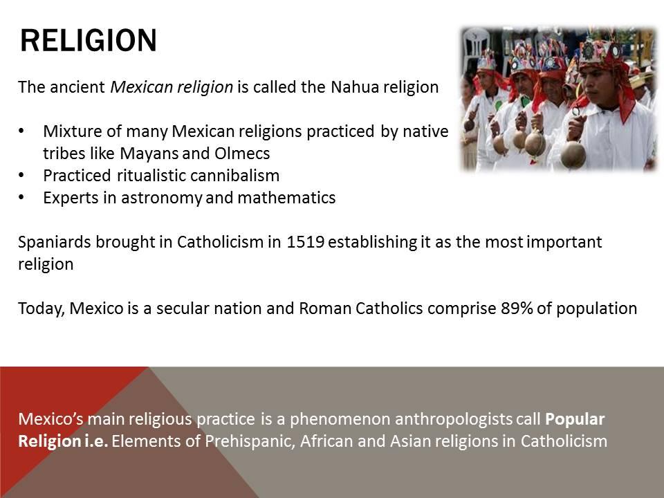Religion in Mexico