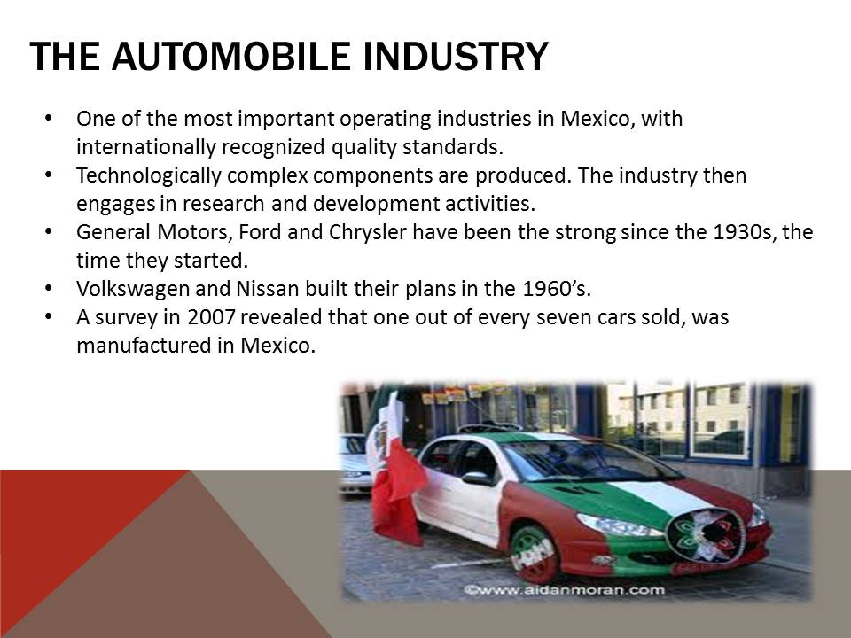 Automobile Industry in Mexico