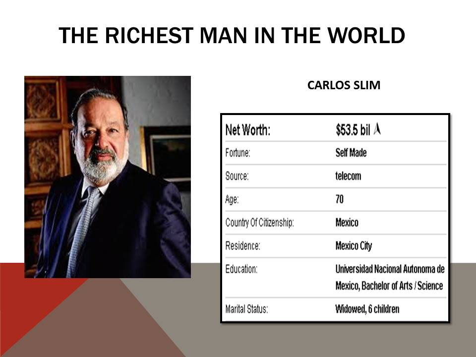 Richest Man in Mexico