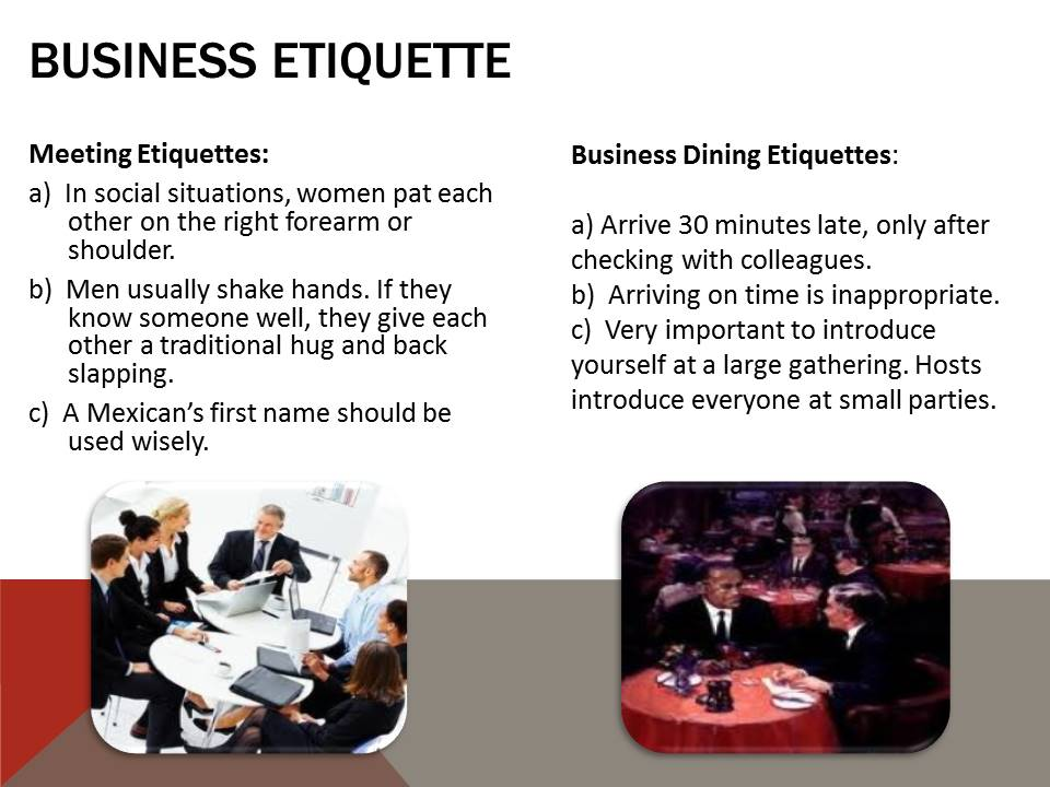Business Etiquette in Mexico
