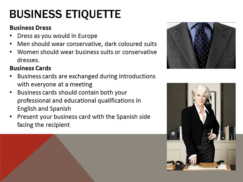 business culture in spain Are you planning a career as an expat in the us then you should read up on us business culture to avoid common faux pas our guide provides helpful info.