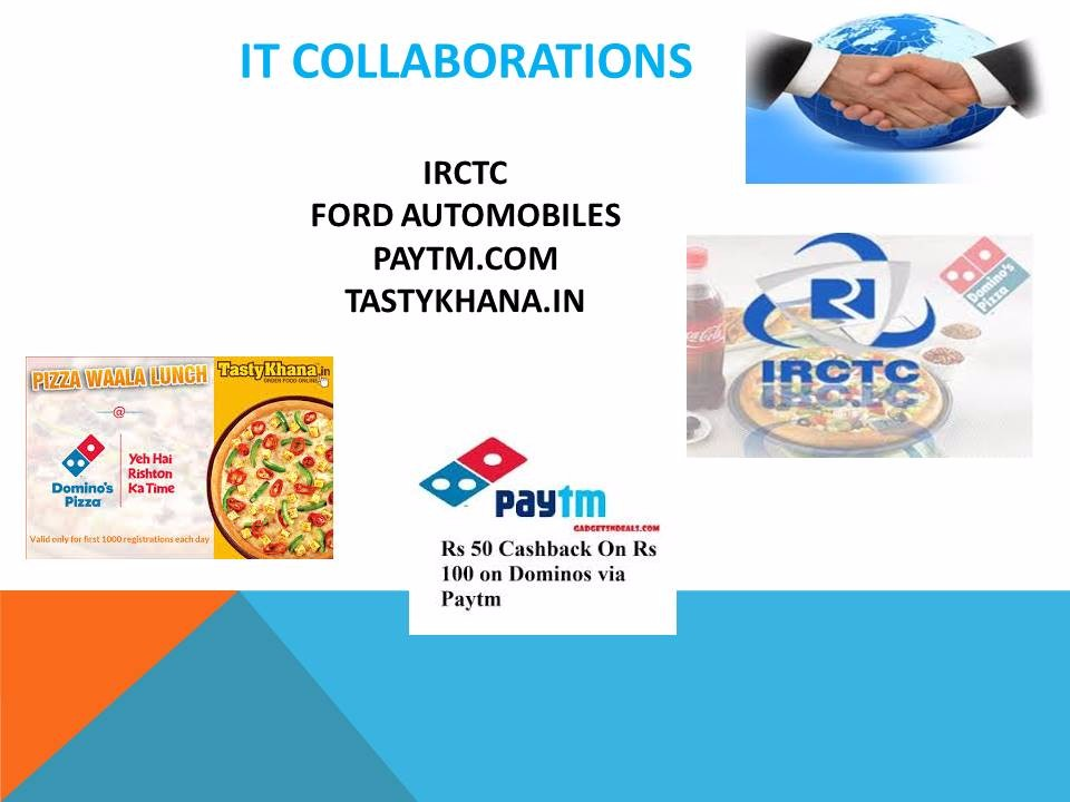 IT collaborations of Dominos