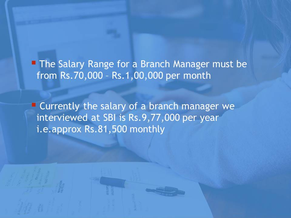 Branch Manager Salary