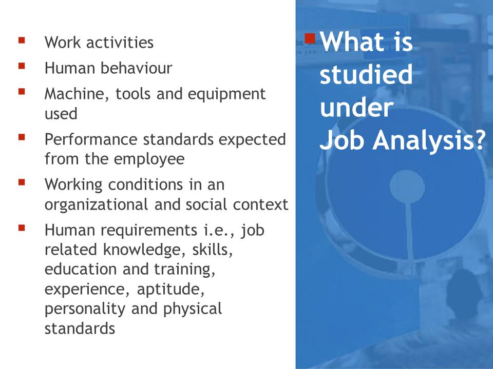 Job Analysis Of A Branch Manager At Sbi  BbaMantra