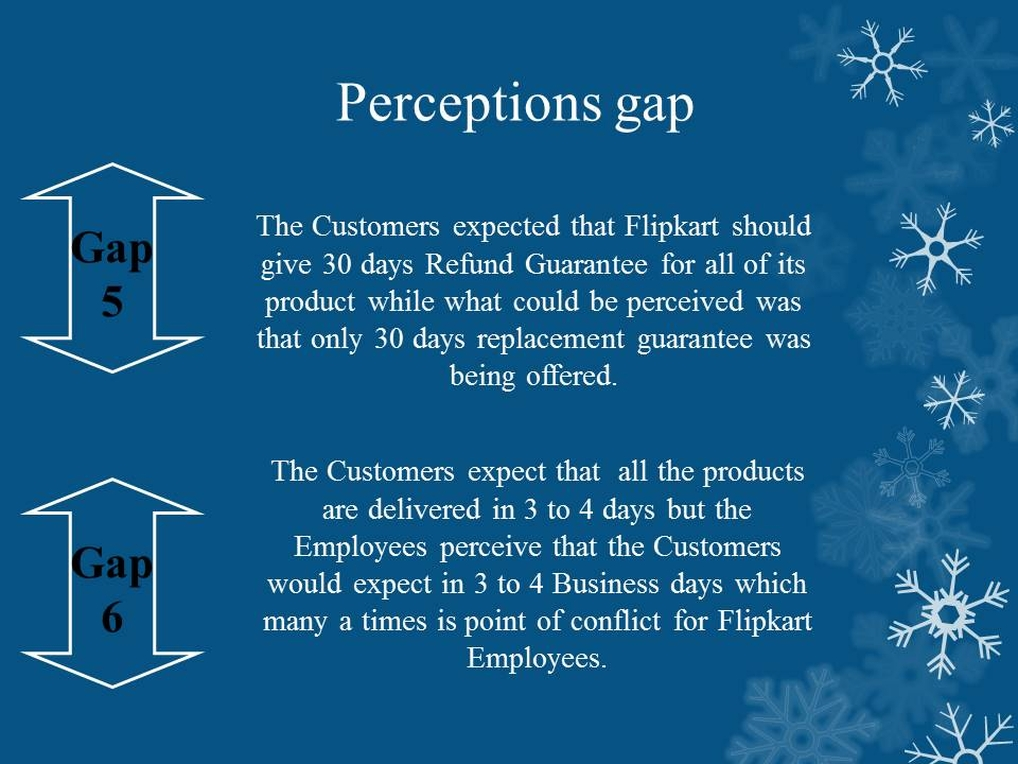Flipkart Perception Gap