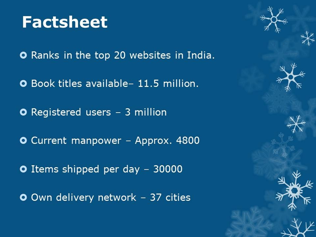 Facts about Flipkart