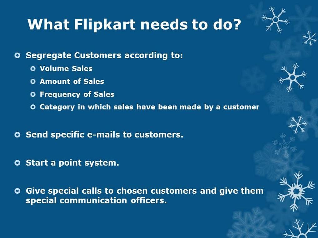 Flipkart Recommendations