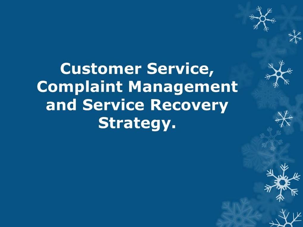 Flipkart Complaint Management