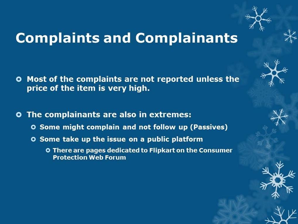 Flipkart complainants