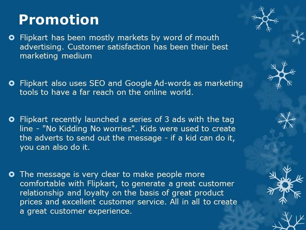 Flipkart Promotion