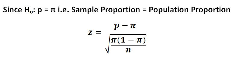 z-statistic-proportion