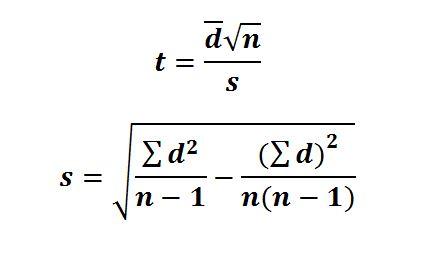 t-statistic-dependant-samples