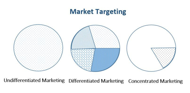 compare and contrast undifferentiated differentiated concentrated and micromarketing targeting strat Chapter 7 customer-driven marketing strategy: undifferentiated b) differentiated c) target d) page ref: 201 133) compare and contrast four major segmenting.