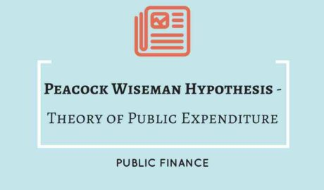 Peacock Wiseman Hypothesis - Public Expenditure