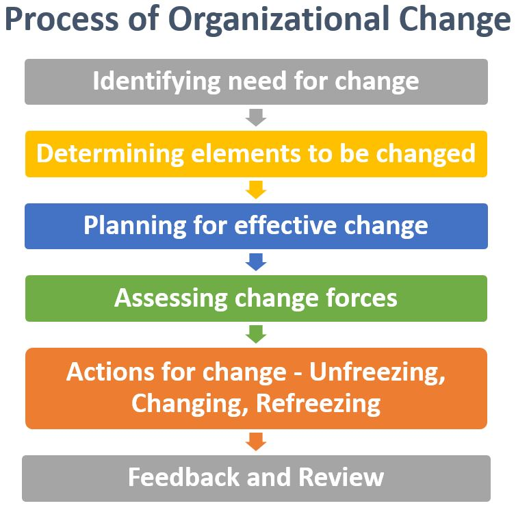 Process of Organizational Change