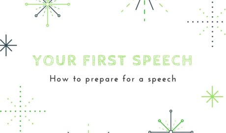 How to prepare for a speech