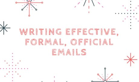 Writing effective official emails