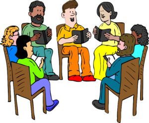 Group Discussion, Ingredients of a Group Discussion,Solving a problem in a Group Discussion,Working of a Committee,Command Meeting,Brain-storming session