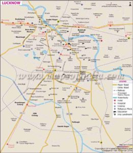 Lucknow Metro Map